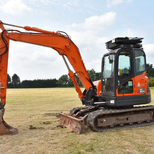 8 Tonne Excavator-2